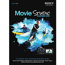 Sony Movie Studio Platinum 12 Traditional