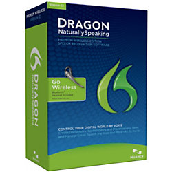 dragon naturallyspeaking premium wireless 12 by office depot officemax. Black Bedroom Furniture Sets. Home Design Ideas