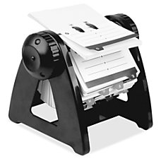 Lorell Refillable Rotary Card File 250