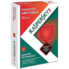 Kaspersky Anti Virus 2013 For 3