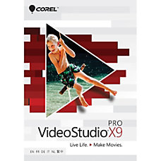 Corel VideoStudio Pro X9 Download Version