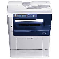 Xerox® WorkCentre Monochrome Laser All-In-One Printer, Scanner, Copier And Fax, 3615/DN