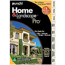 Encore Punch Home Landscape Design Professional