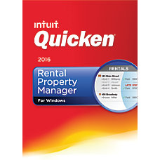 Quicken Rental Property Manager 2016 Traditional