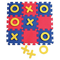 ChenilleKraft Tic Tac Toe Mat Learning