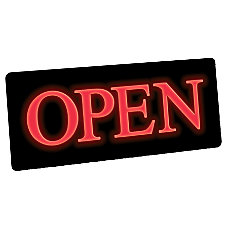 Newon Slim Lighted Open Sign 5