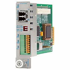 iConverter RS 232 Serial Fiber Media
