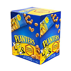 Planters Nut Pouches Honey Roasted Peanuts