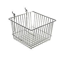 Azar Displays Chrome Wire Baskets 8