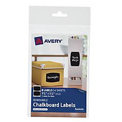 Avery Chalkboard Labels 3 34 x