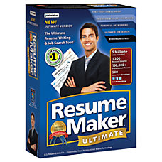 ResumeMaker Professional Ultimate 5 Traditional Disc