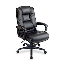 Office Star WorkSmart Deluxe Executive Leather