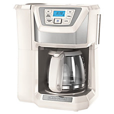 Black Decker 12 Cup Mill Brew