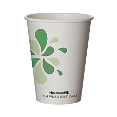 Highmark Renewable Hot Drink Cups 12