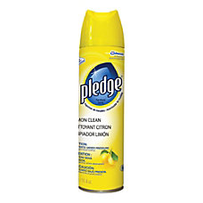 Pledge Furniture Polish Spray Lemon Scent