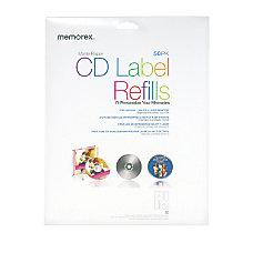 Memorex InkjetLaser CDDVD Ultra White Matte