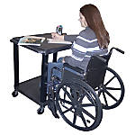 Tuffy Increased Access Adjustable Workstation 2