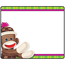 Trend Sock Monkeys Coll Self adhes