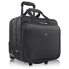 Solo Classic Rolling Carrying Case For