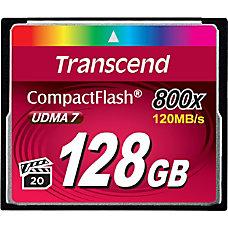 Transcend Premium 128 GB CompactFlash