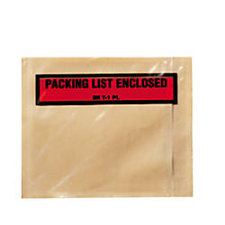 3M Packing List Enclosed Envelopes Top