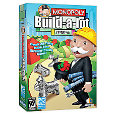 Monopoly Build a lot Edition Traditional