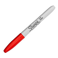 Super Sharpie Permanent Marker Red