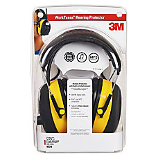 Tekk Protection Worktunes Earmuf Stereo Yellow