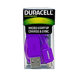 Duracell Light Up Micro USB Cable