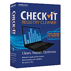 CheckIt Registry Cleaner Traditional Disc