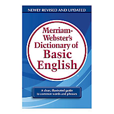 Merriam Websters Dictionary of Basic English