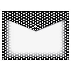 Ashley BW Dots Design Snap Poly