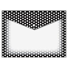Ashley BW Dots Design Snap Poly