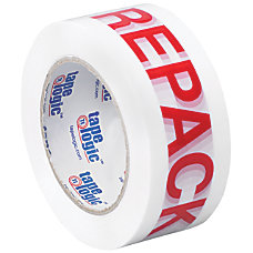 Tape Logic Pre Printed Carton Sealing