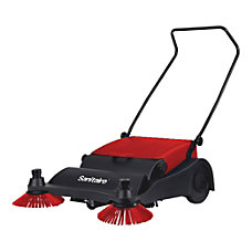 Sanitaire Push Sweeper BlackRed