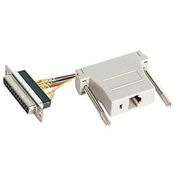 StarTechcom DB25 to RJ45 Modular Adapter
