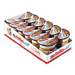 Nutella Go Packs 18 Oz Tub