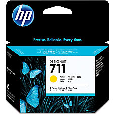 HP 711 3 Pack 29 ml