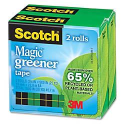 Scotch Magic Greener Tape 34 x