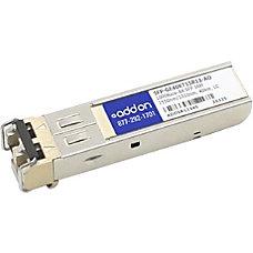 AddOn Juniper Networks SFP GE40KT15R13 Compatible