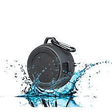 BYTECH Portable Water Resistant Wireless Speaker
