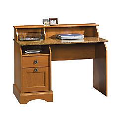 Sauder Graham Hill Wood Desk Cherry