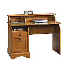 Sauder Graham Hill Wood Desk Cherry