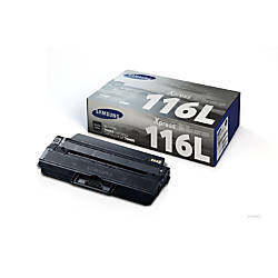Samsung MLT D116L Black Toner Cartridge