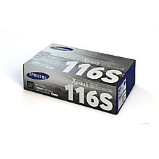 Samsung MLT D116S Black Toner Cartridge