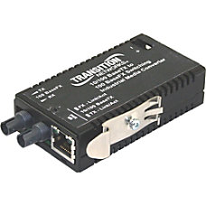 Transition Networks Industrial Mini 10100 Bridging