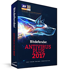 Bitdefender Antivirus Plus 2017 1 User