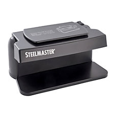 STEELMASTER 200SM Counterfeit Currency Detector Black