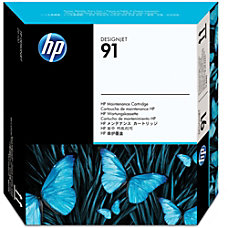 HP No 91 Maintenance Cartridge For