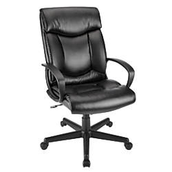 High Back Task Chair Black By Office Depot OfficeMax